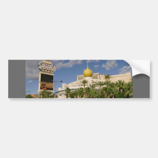 Vintage Sahara Hotel Las Vegas Bumper Sticker