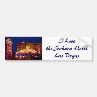 Vintage Sahara Hotel Las Vegas Bumper Stickers