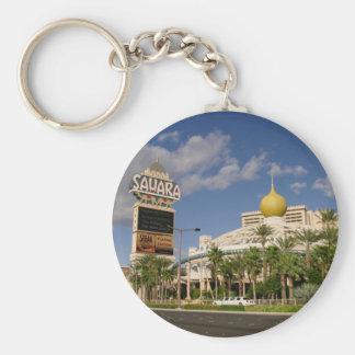Vintage Sahara Hotel Las Vegas Keychain