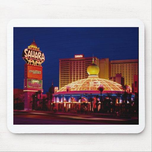Vintage Sahara Hotel Las Vegas Mouse Pad