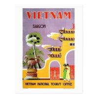 Vintage Saigon Vietnam Travel