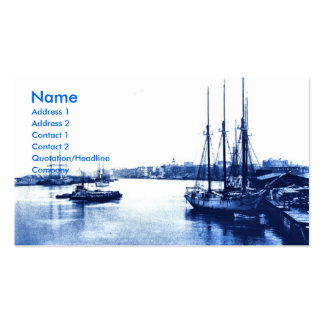 Vintage Sail Boats Double-Sided Standard Business Cards (Pack Of 100)
