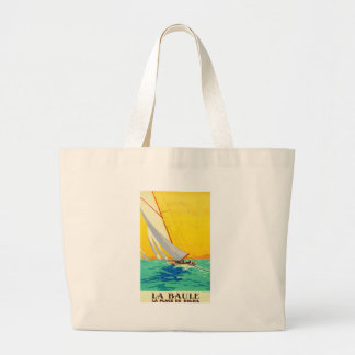 Vintage Sail Boats French Travel Bags