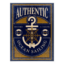 Vintage Sailing Poster