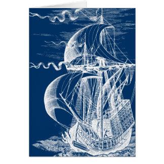 Vintage Sailing Ship Cards