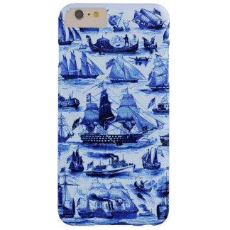VINTAGE SAILING VESSELS AND SHIPS,Navy Blue Barely There iPhone 6 Plus Case