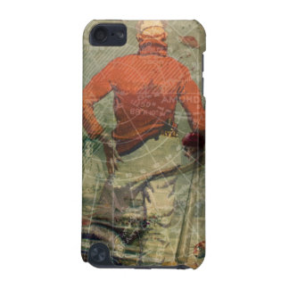 Vintage Sailor Diving Woman Mermaids Map Collage iPod Touch (5th Generation) Cover