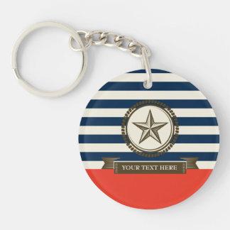 Vintage Sailor Keychain