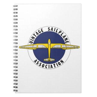 Vintage Sailplane Association Items Notebook