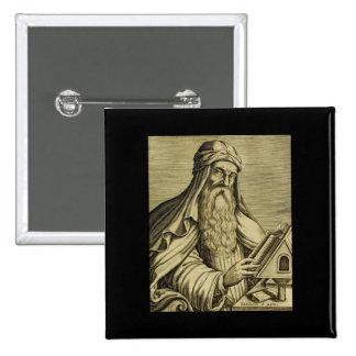 Vintage Saint Basil Hand-drawn Image Button