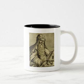 Vintage Saint Basil Hand-drawn Image Two-Tone Coffee Mug