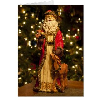 Vintage Saint Nicholas 1 Greeting Card