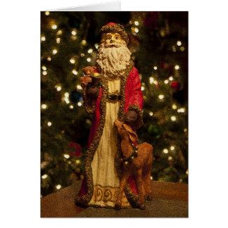 Vintage Saint Nicholas T1 Greeting Card
