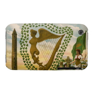Vintage : Saint Patrick's day - iPhone 3 Case