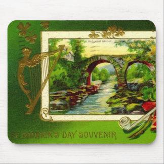 Vintage : Saint Patrick's day - Mouse Pad