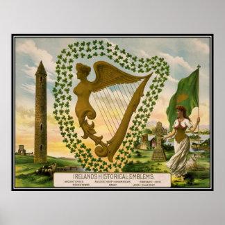 Vintage : Saint Patrick's day - Poster