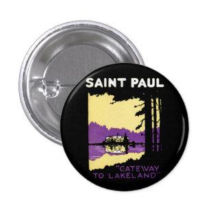 Vintage Saint Paul, Minnesota Buttons