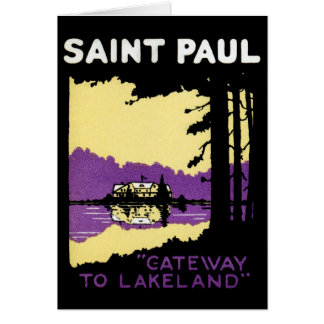 Vintage Saint Paul, Minnesota Cards