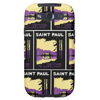 Vintage Saint Paul, Minnesota Samsung Galaxy SIII Cases