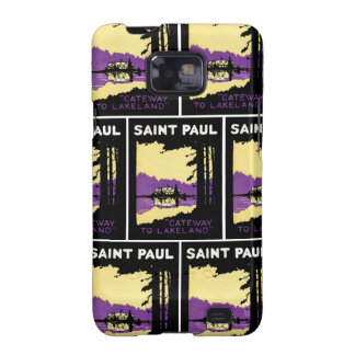 Vintage Saint Paul, Minnesota Samsung Galaxy SII Case
