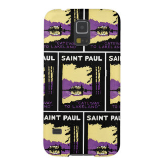 Vintage Saint Paul, Minnesota Case For Galaxy S5