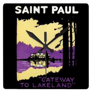 Vintage Saint Paul, Minnesota Clocks