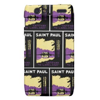 Vintage Saint Paul, Minnesota Droid RAZR Cases