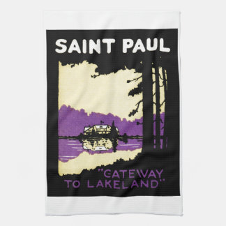 Vintage Saint Paul, Minnesota Hand Towels