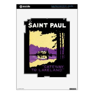 Vintage Saint Paul, Minnesota iPad 3 Skins