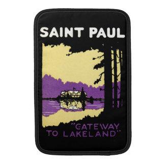 Vintage Saint Paul, Minnesota Sleeve For MacBook Air