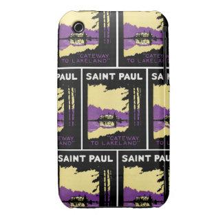 Vintage Saint Paul, Minnesota iPhone 3 Case