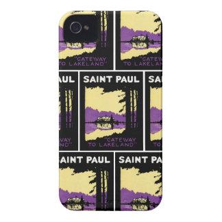 Vintage Saint Paul, Minnesota iPhone 4 Case