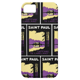Vintage Saint Paul, Minnesota iPhone SE/5/5s Case