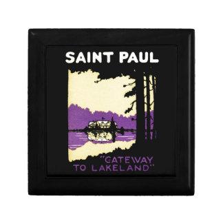 Vintage Saint Paul, Minnesota Jewelry Boxes