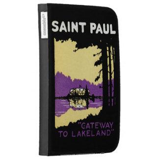 Vintage Saint Paul, Minnesota Kindle 3 Cover