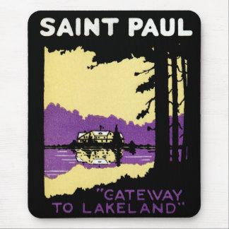 Vintage Saint Paul, Minnesota Mouse Pads