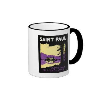 Vintage Saint Paul, Minnesota Mug