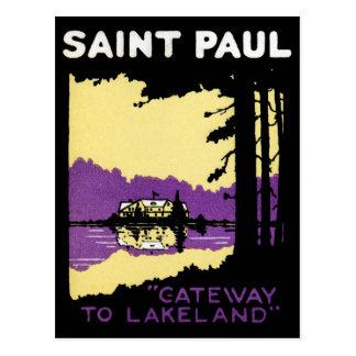 Vintage Saint Paul, Minnesota Postcard
