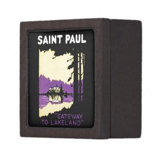 Vintage Saint Paul, Minnesota Premium Gift Box