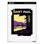 Vintage Saint Paul, Minnesota Pegatina Skin Para iPad 3