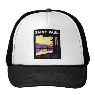 Vintage Saint Paul, Minnesota Trucker Hats