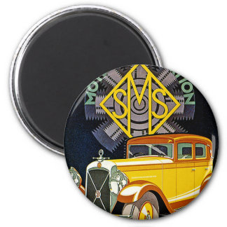 Vintage Salmson Automobile Ad 2 Inch Round Magnet