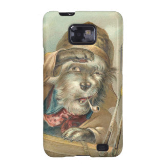 Vintage Salty Dog Samsung Galaxy SII Case