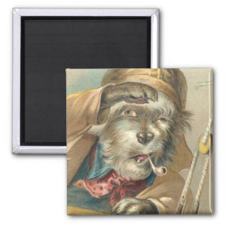 Vintage Salty Dog Magnet