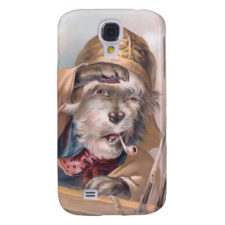 Vintage Salty Sea Dog 3G Spec Samsung Galaxy S4 Covers