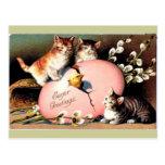 Vintage - saludos de Pascua Tarjetas Postales