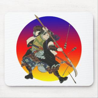 Vintage Samurai Mouse Pad