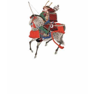 Vintage Samurai on Horseback, c. 1878 shirt