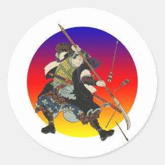Vintage Samurai Sticker