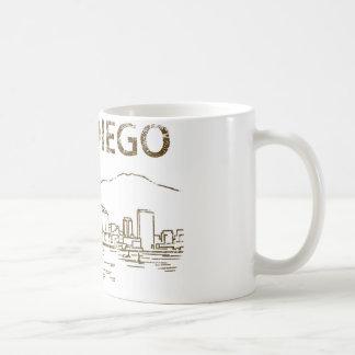Vintage San Diego Coffee Mug